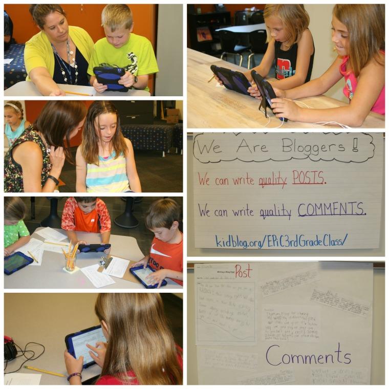 Blogging 3rd Grade